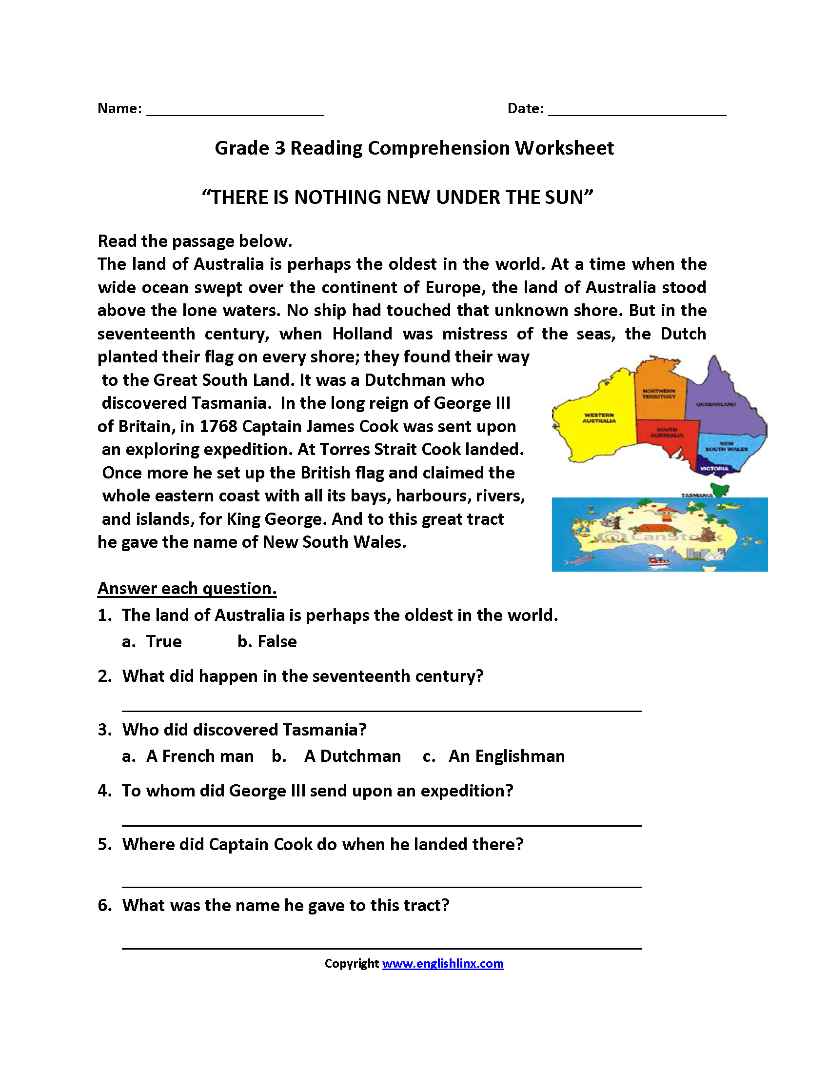 Best Of Reading Comprehension Worksheet Year 4 – Rpplusplus - Free Printable English Comprehension Worksheets For Grade 4