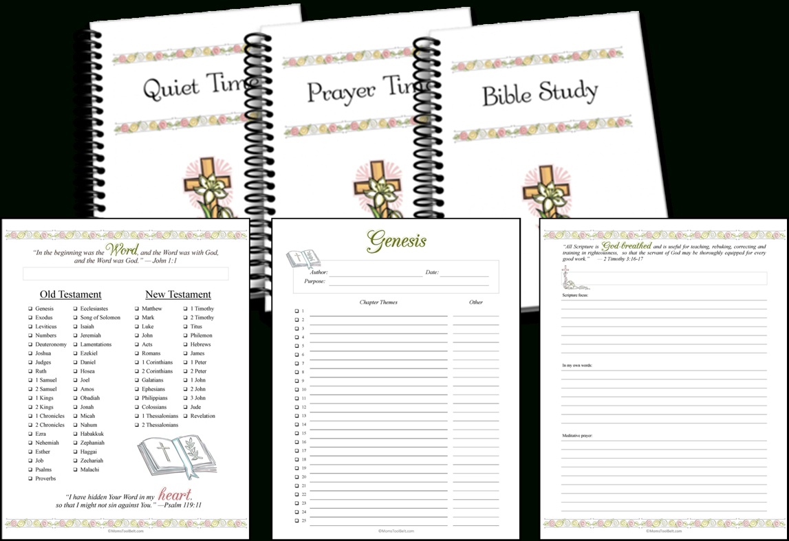 Bible Study And Quiet Time Pages - Free Printable Bible Study Lessons Genesis