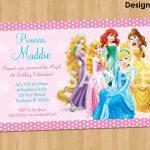 Birthday Party Dresses : Cinderella Birthday Invitation Template   Disney Princess Birthday Invitations Free Printable