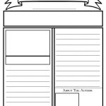 Blank Newspaper Template For Kids Printable | Homework Help   Free Printable Newspaper Templates For Students