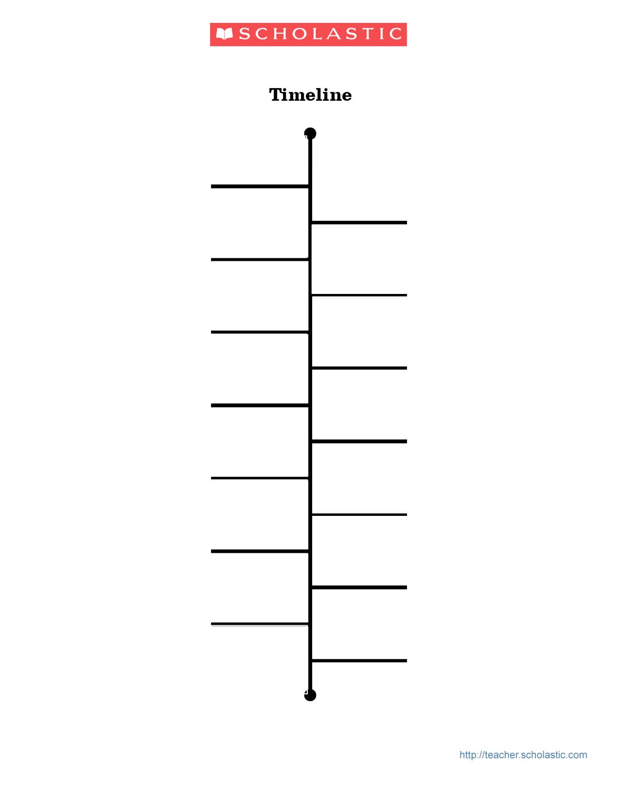 Blank Timeline Template 15 Blank Timeline Template 15 2 | Template - Free Blank Timeline Template Printable