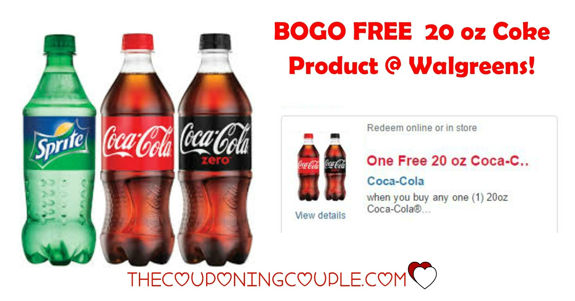 Bogo Free 20 Oz Coke Ecoupon @ Walgreens! Through 6/28! - Free Printable Coupons For Coca Cola Products