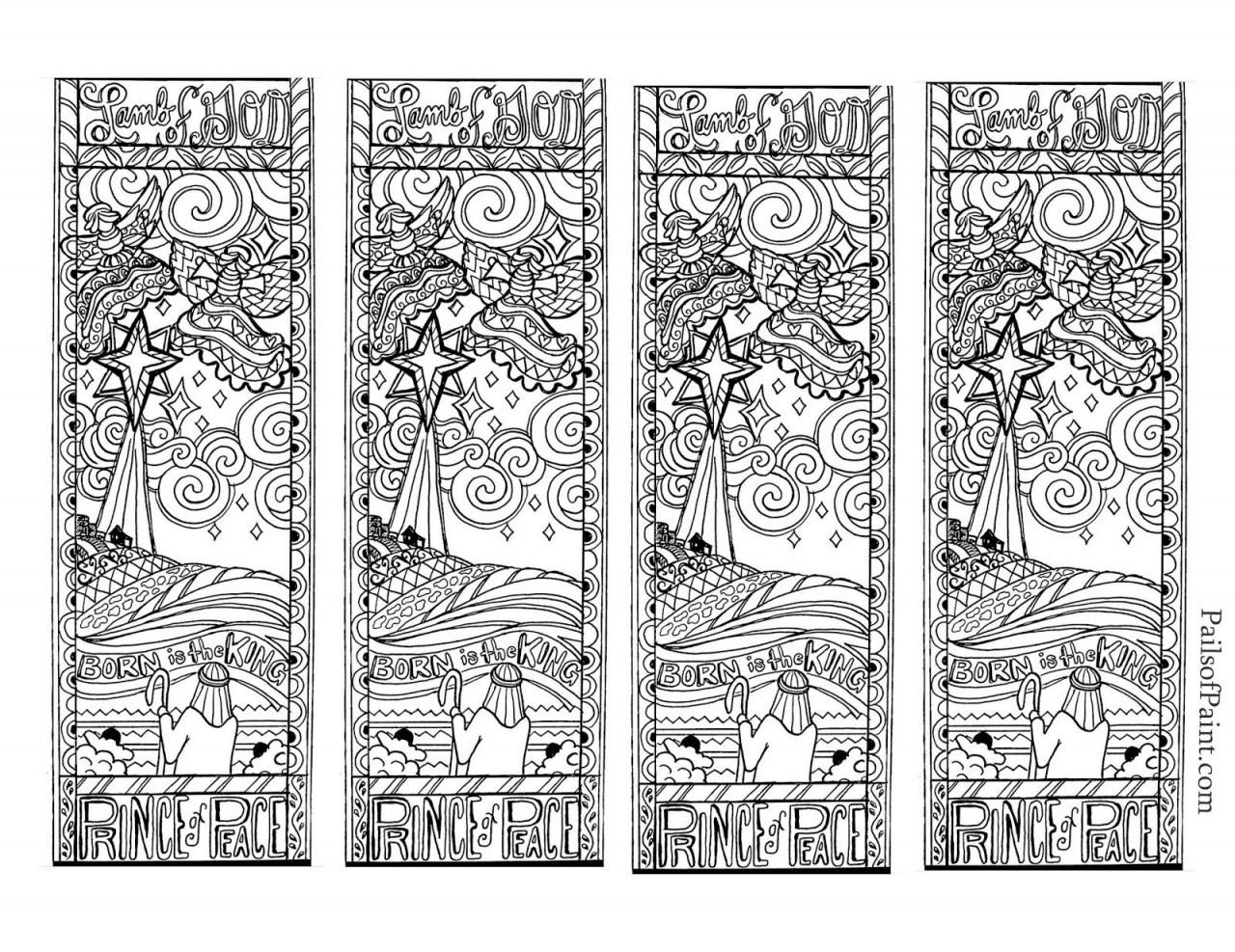 Bookmark Coloring Pages Bookmark Coloring Pages Free Printable - Free Printable Bookmarks To Color