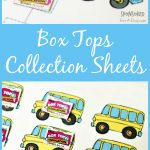 Box Tops For Education Collection Sheets | New Teachers | Box Top – Free Printable Box Tops For Education