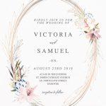 Breathtaking 25 Most Popular Wedding Invitations 2019 | Wedding   Free Printable Wedding Invitations