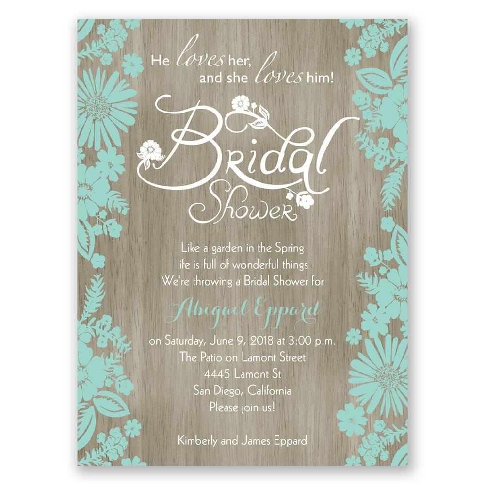 Bridal Shower Invitations | Invitationsdawn - Free Printable Beach Theme Bridal Shower Invitations