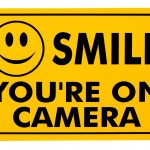 Buy Smile You're On Camera Rust Free Outdoor Waterproof Fade   Free Printable Smile Your On Camera