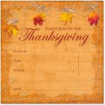 Can't Find Substitution For Tag [Post.body]  > Printable   Free Printable Thanksgiving Invitations