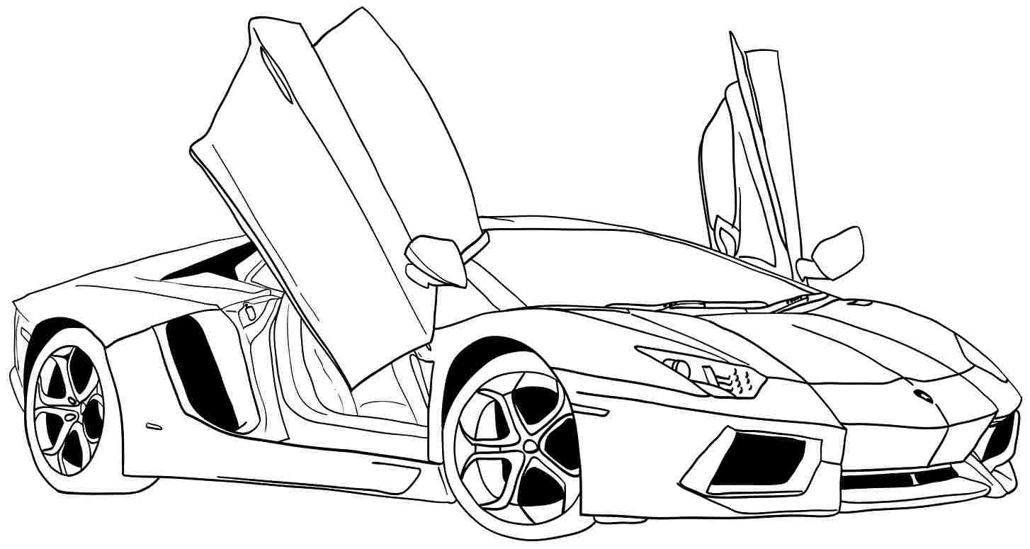 Car Coloring Pages Free Printable Coloring Pages | Coloring_Pages - Cars Colouring Pages Printable Free
