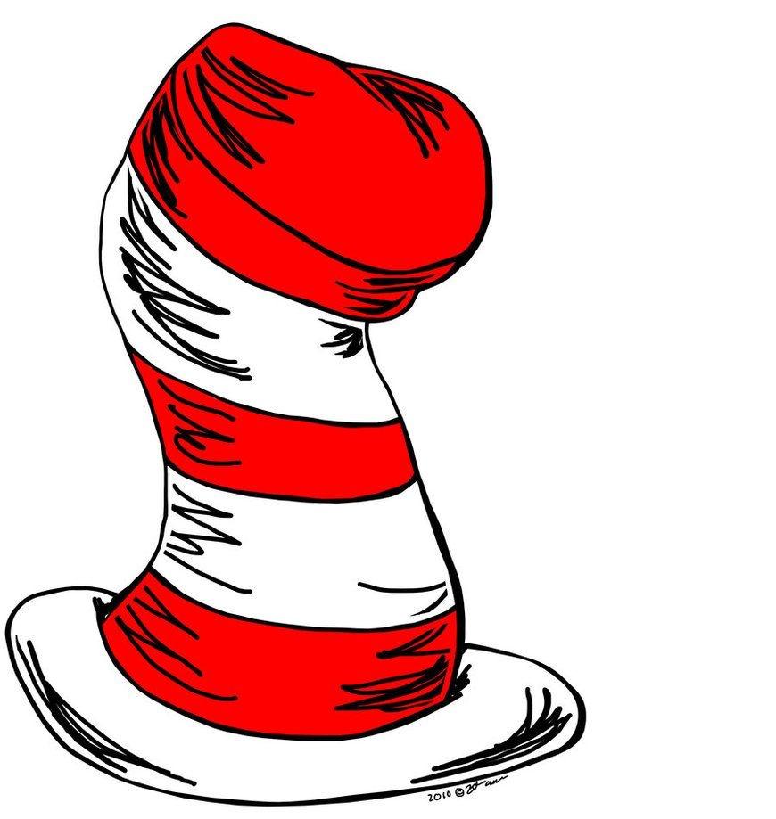 Cat In The Hat Clipart   Dr. Suess   Dr Seuss Hat, Cat Hat, Dr Seuss - Free Printable Cat In The Hat Clip Art