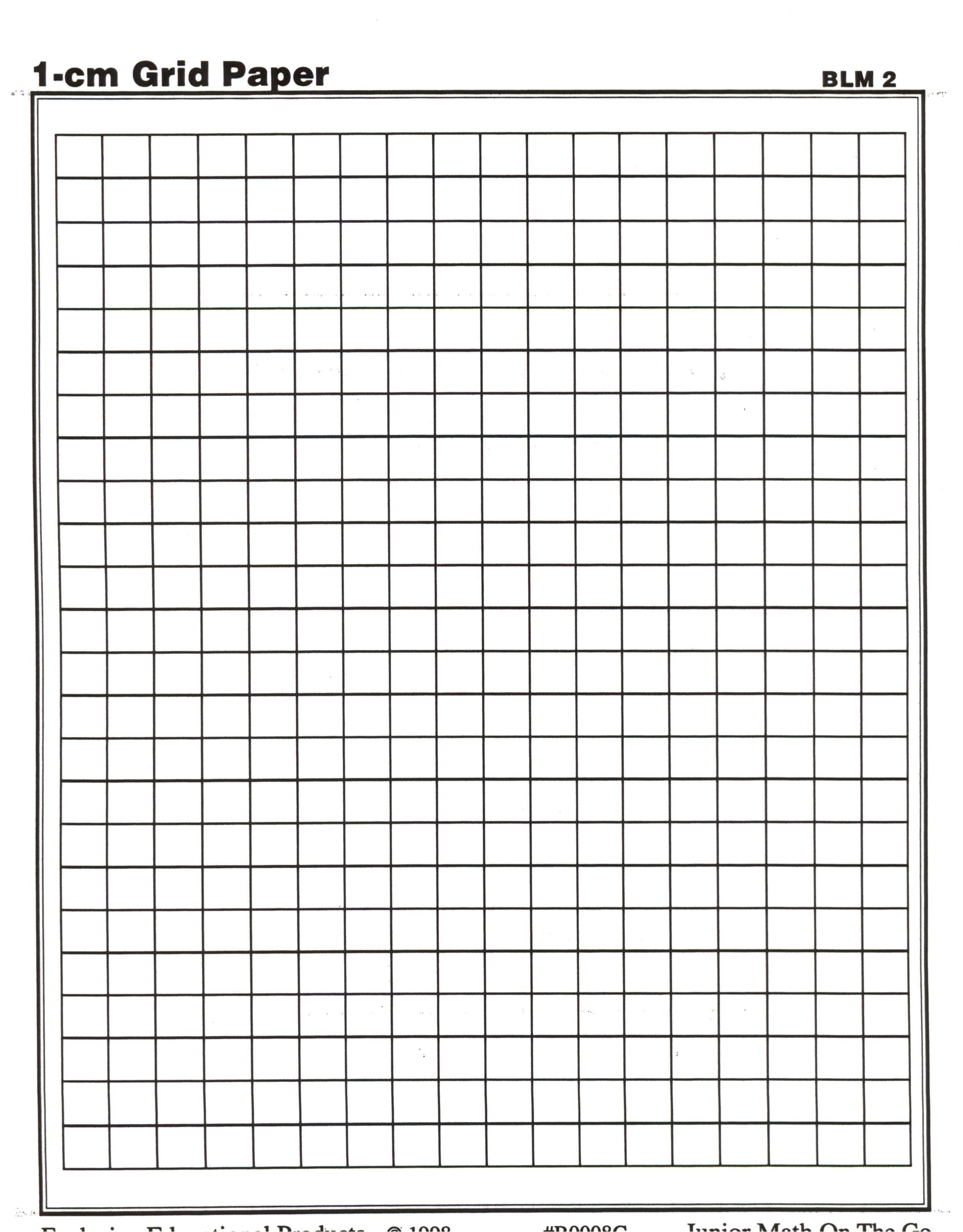 Centimeter Graph Paper | Math Teaching Ideas | Printable Graph Paper - Cm Graph Paper Free Printable
