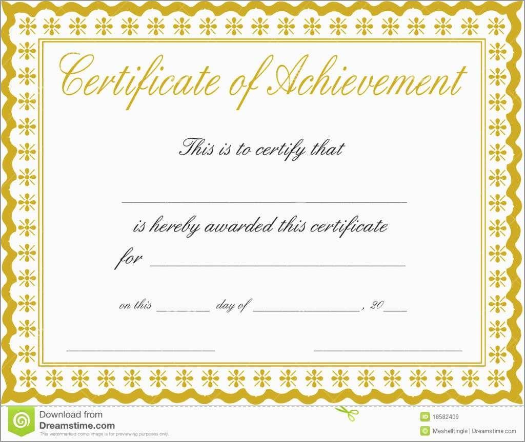 Certificate Of Achievement Template Free Lovely Free Customizable - Free Customizable Printable Certificates Of Achievement