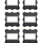 Chalkboard Buffet Food Labels {Free Printables} | Saturdaygift   Free Printable Food Tags For Buffet