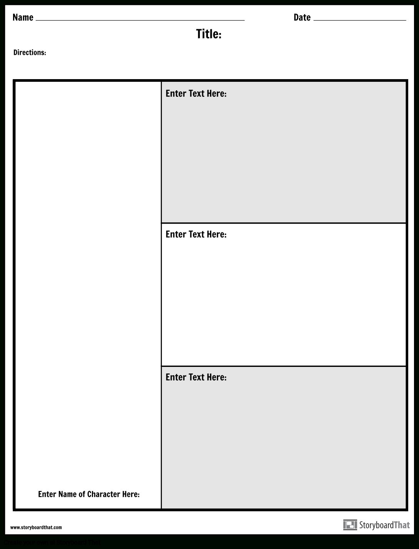 Character Map Graphic Organizer   Make A Character Map Worksheet - Free Printable Character Map
