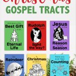 Christmas Gospel Tracts (Free Printables)   Flanders Family Homelife   Free Printable Gospel Tracts For Children