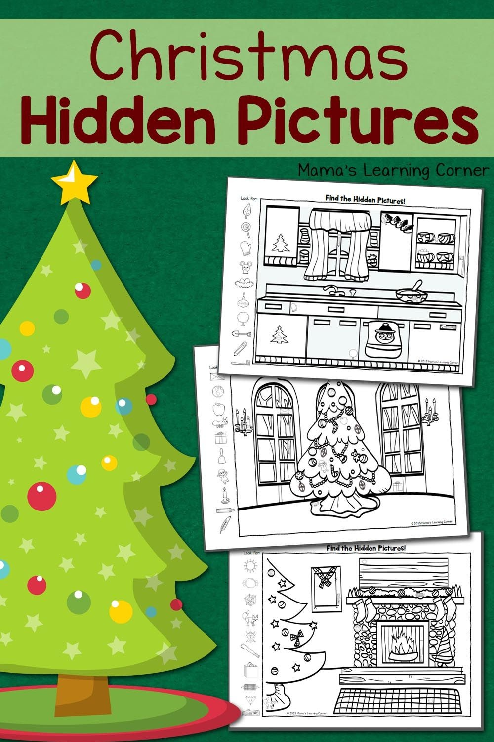 Christmas Hidden Pictures Printables   Best Of Mama's Learning - Free Printable Christmas Hidden Picture Games