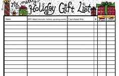 Christmas List Maker Printable – Home Design Ideas – Home Design Ideas – Free Printable Christmas List Maker