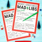 Christmas Mad Libs Printable   Happiness Is Homemade   Christmas Mad Libs Printable Free