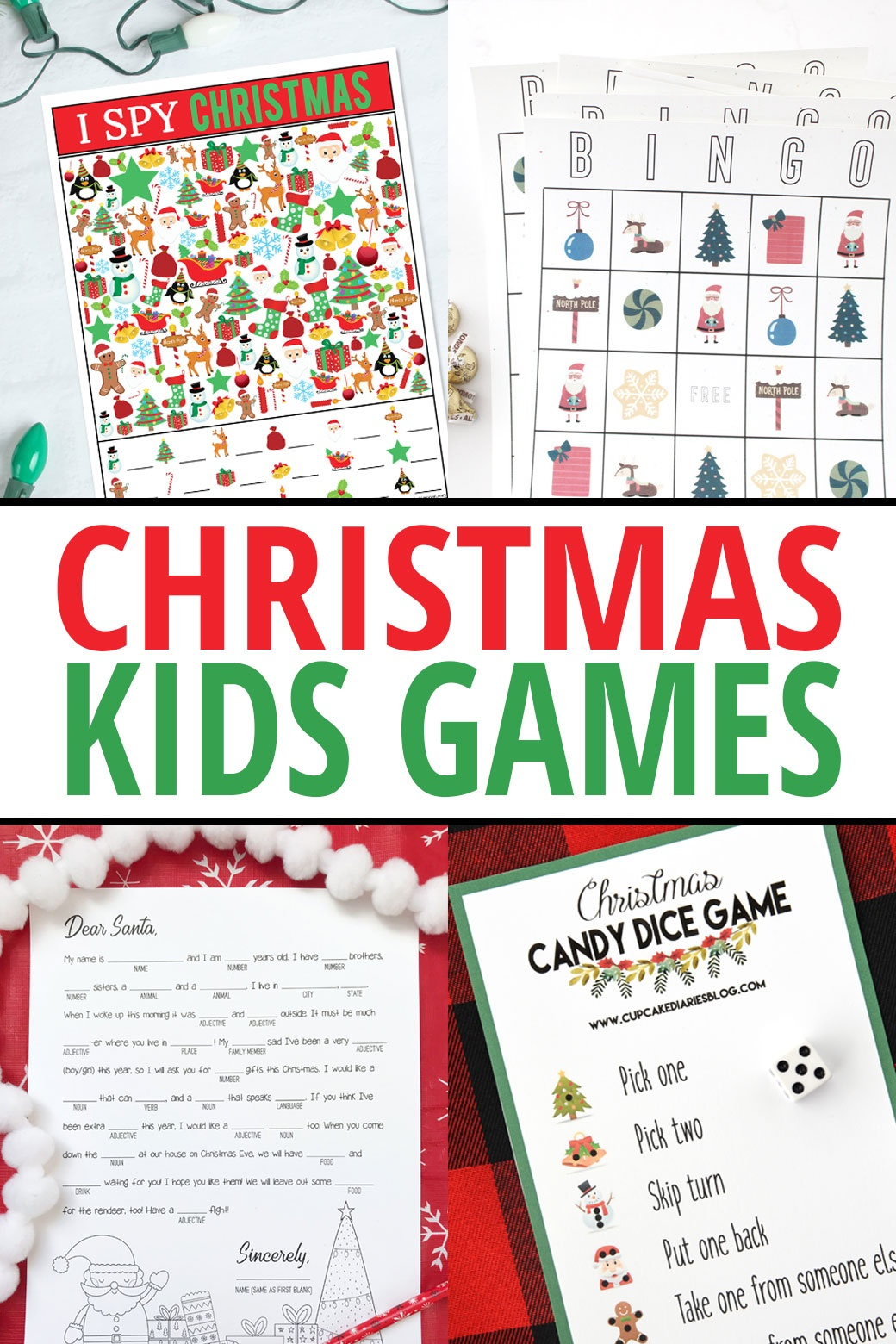 Christmas Mad Libs Printable - My Sister's Suitcase - Free Printable Christmas Games For Preschoolers