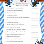 Christmas Riddles Trivia Game | 2 Printable Versions With Answers   Free Printable Riddles