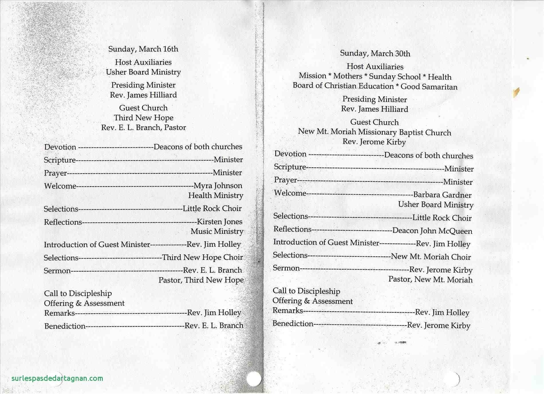 Church Anniversary Program Templates In Word | Lazine - Pastor Appreciation Cards Free Printable