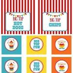 Circus Party | Free Printables | Free Printables | Circus Party   Free Printable Carnival Decorations