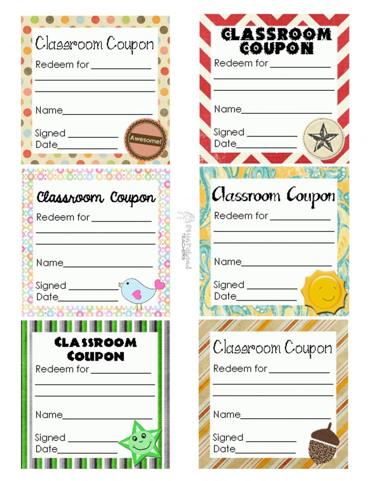 Free Printable Homework Pass Coupon