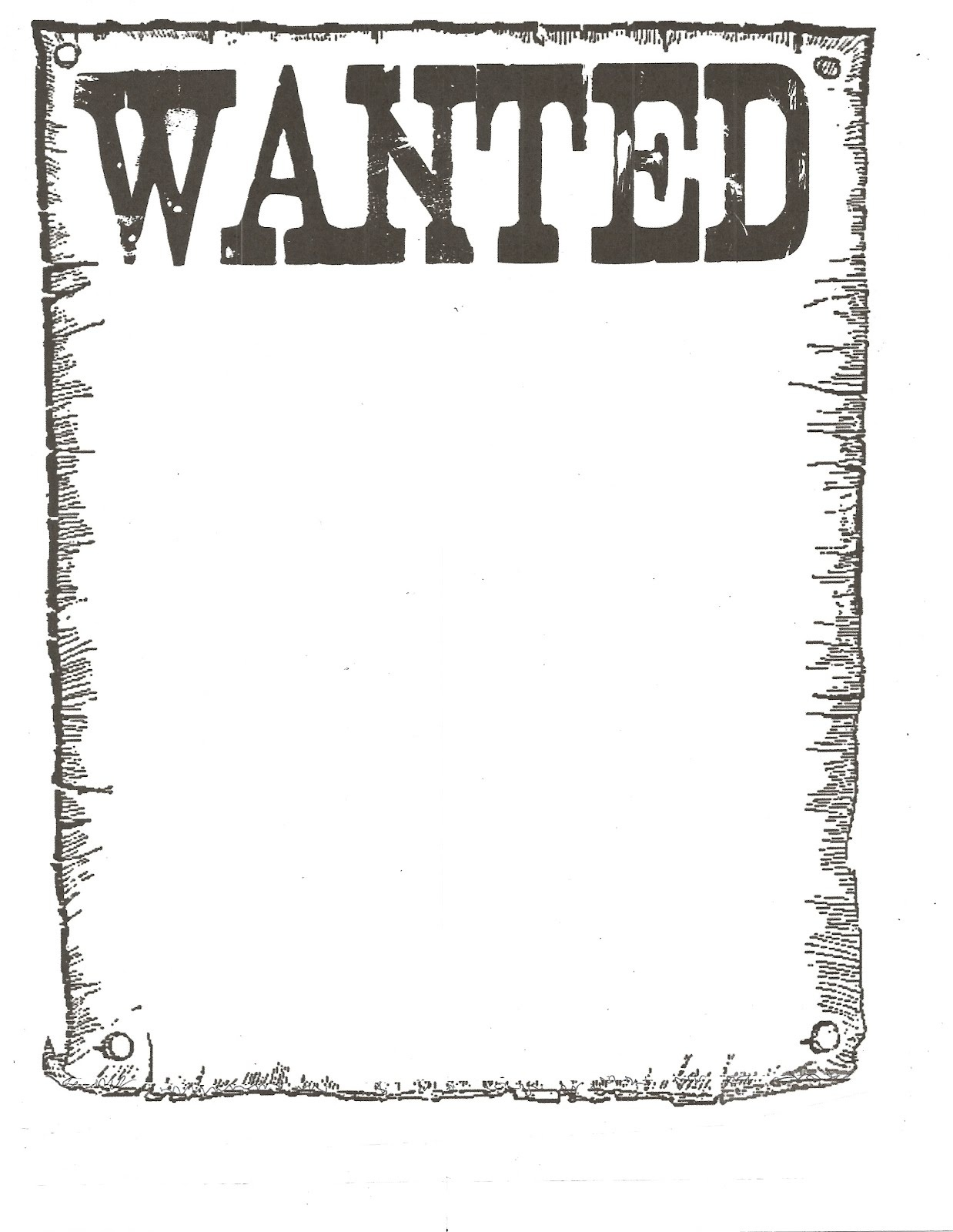 Classroom Freebies Wanted Poster | Gameshd - Clip Art Library - Wanted Poster Printable Free