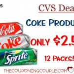 Coca Cola Products $2.50 Per 12 Pack @ Cvs   Free Printable Coupons For Coca Cola Products