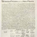 Collection Of Free Assenting Clipart Declaration Independence   Free Printable Copy Of The Declaration Of Independence