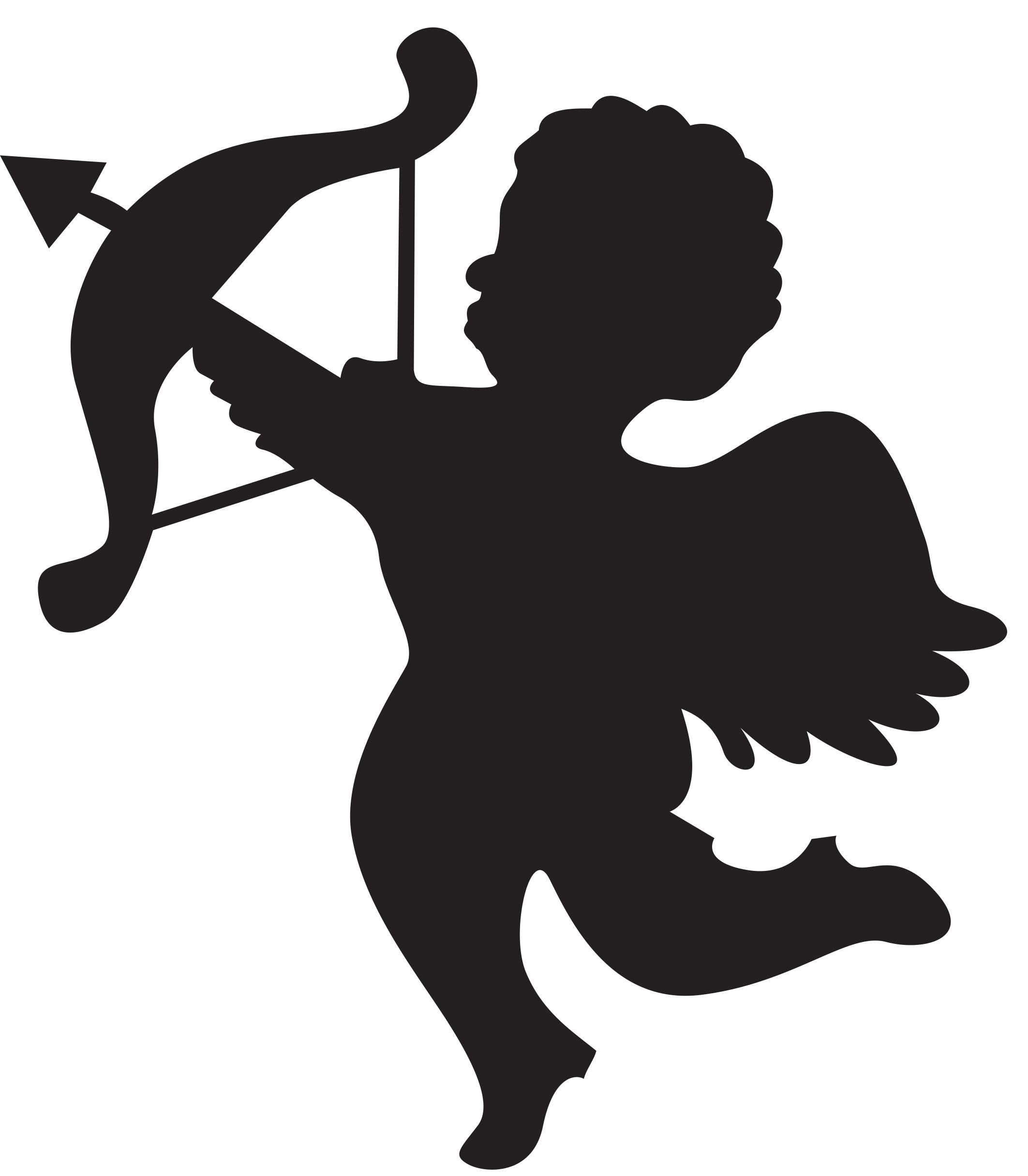 Collection Of Free Cupid Drawing Printable. Download On Ui Ex - Free Printable Pictures Of Cupid