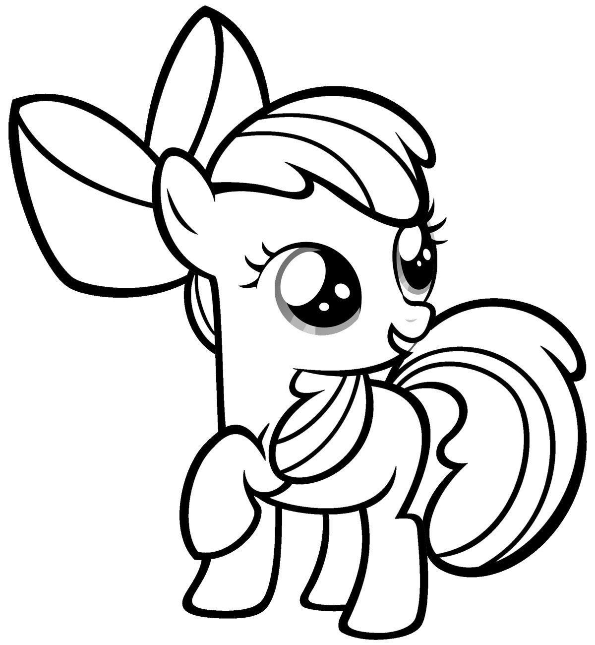 Color Pages Online My Little Pony Coloring Pages Online Free - Free Printable My Little Pony Coloring Pages