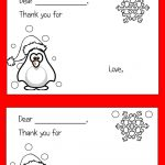 Color Your Own Printable Thank You Cards For Kids | Thrifty Thursday   Free Printable Color Your Own Cards