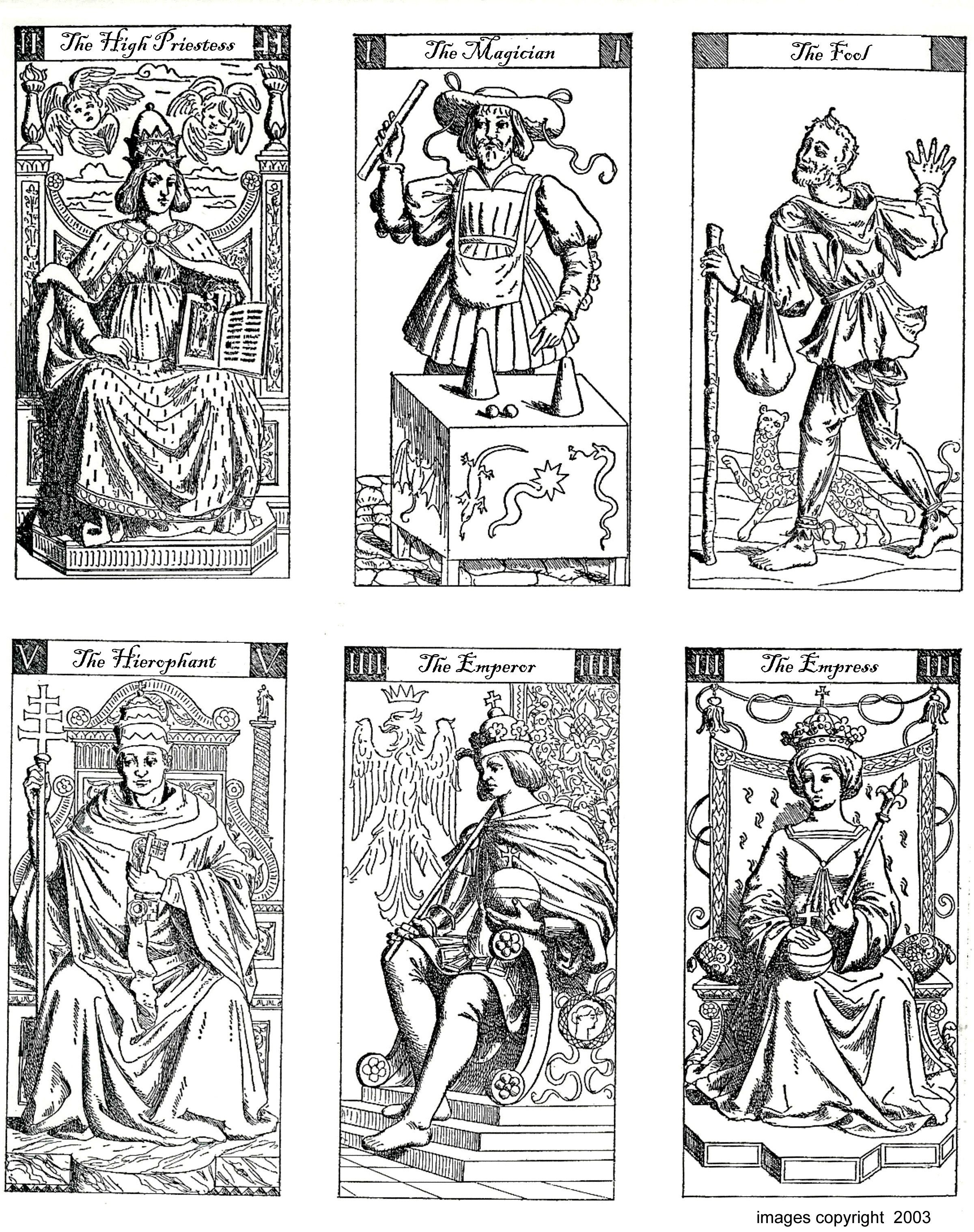 Color Your Own Tarot | Mythology And Old World Printables | Free - Free Printable Tarot Cards