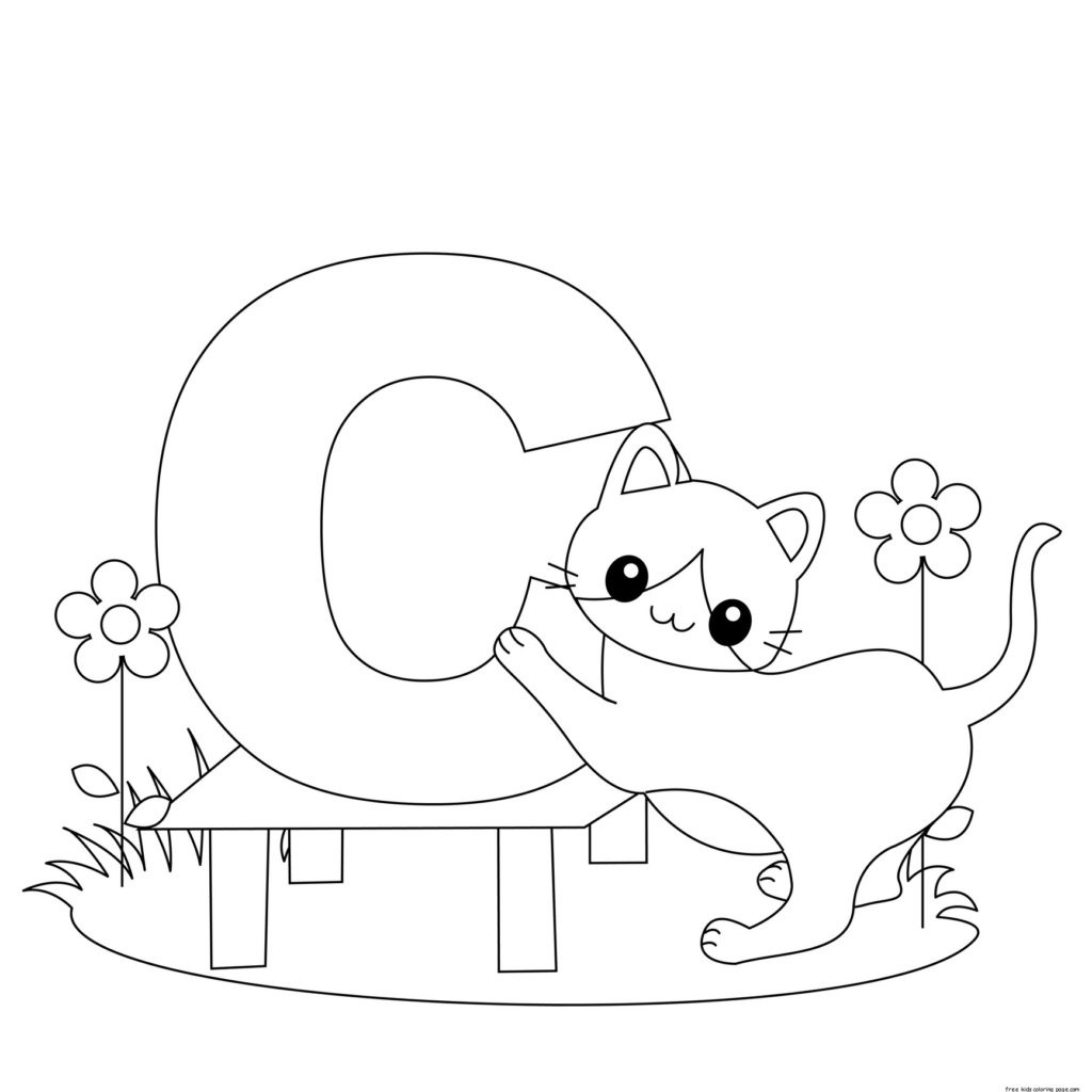 Coloring Book World ~ Alphabet Coloring Sheets Letter Pages For - Free Printable Alphabet Coloring Pages