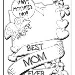 Coloring Book World ~ Coloring Book World Printable Cards Staggering   Free Printable Mothers Day Coloring Cards
