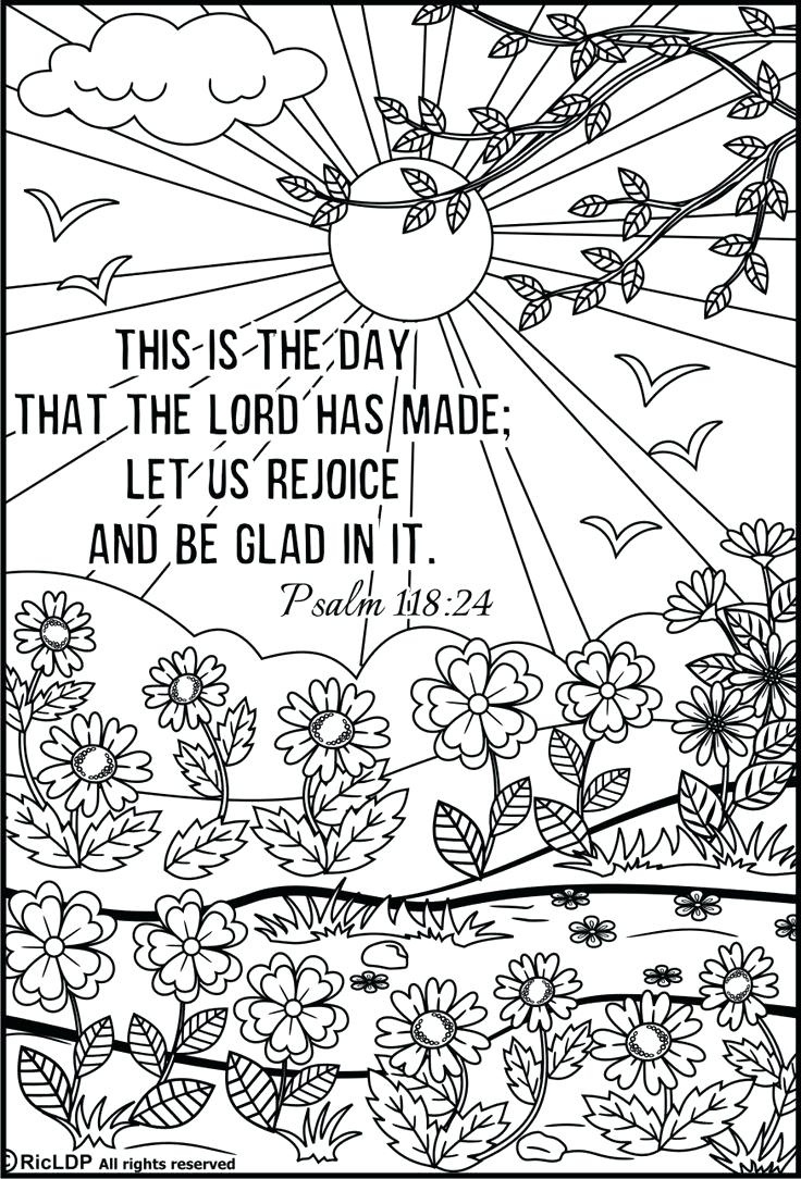Coloring Book World ~ Free Christian Coloring Pages With Scripture - Free Printable Bible Coloring Pages With Scriptures