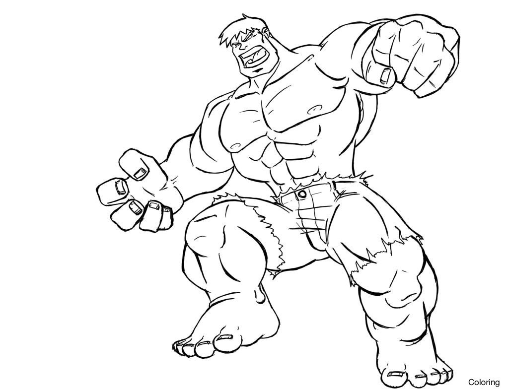 Coloring Book World ~ Free Printable Superhero Coloringes For Kids - Free Printable Superhero Coloring Pages