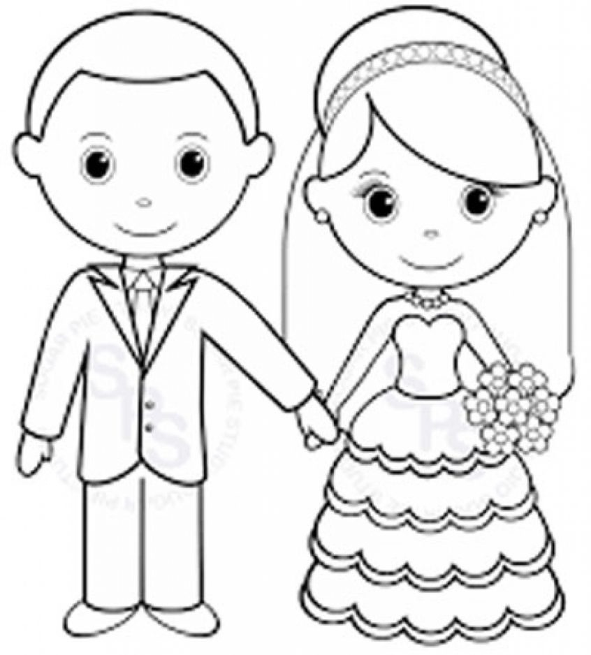 Coloring Book World ~ Personalized Colorings Fantastic Wedding Pages - Wedding Coloring Book Free Printable