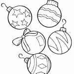 Coloring ~ Coloring Christmas Ornament Color Pages Free Printable   Free Printable Christmas Tree Ornaments To Color