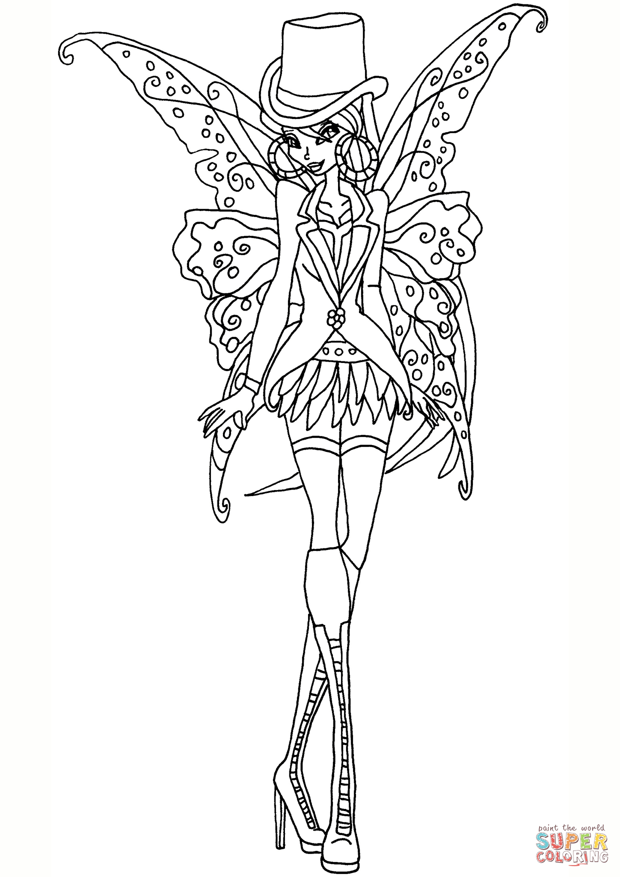 Coloring ~ Coloring Free Printable Fairy Pages Unique Flower Thrift - Free Printable Coloring Pages For Adults Dark Fairies