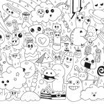 Coloring ~ Doodle Art Coloring Pages Www Allanlichtman Com For   Free Printable Doodle Art Coloring Pages