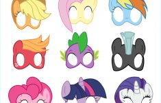 Coloring ~ Freerintable My Littleony Coloringages For Kids Character – Free My Little Pony Printable Masks