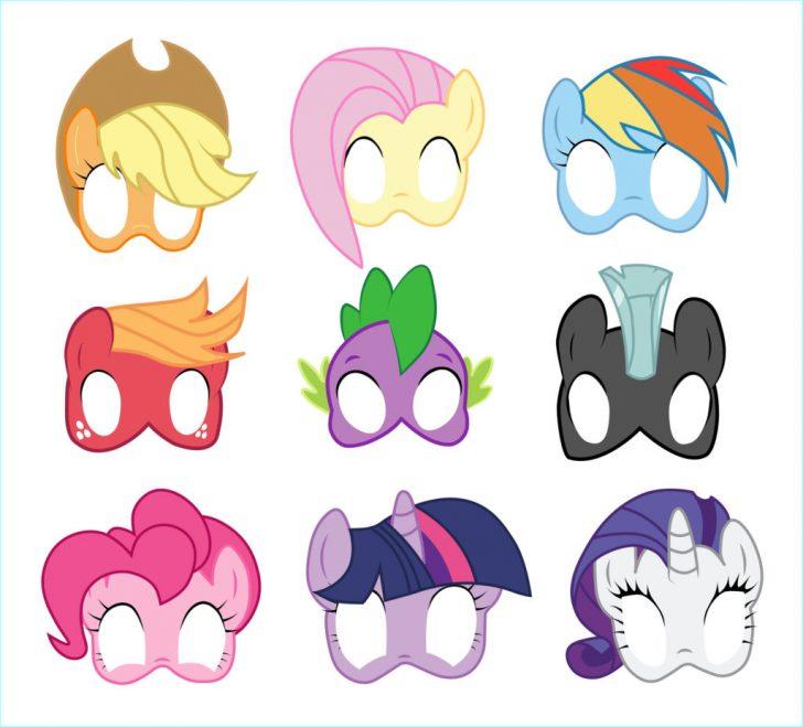 Free My Little Pony Printable Masks