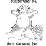 Coloring ~ Groundhog Day Coloring Pages Free Printable For Kids – Free Printable Groundhog Day Booklet