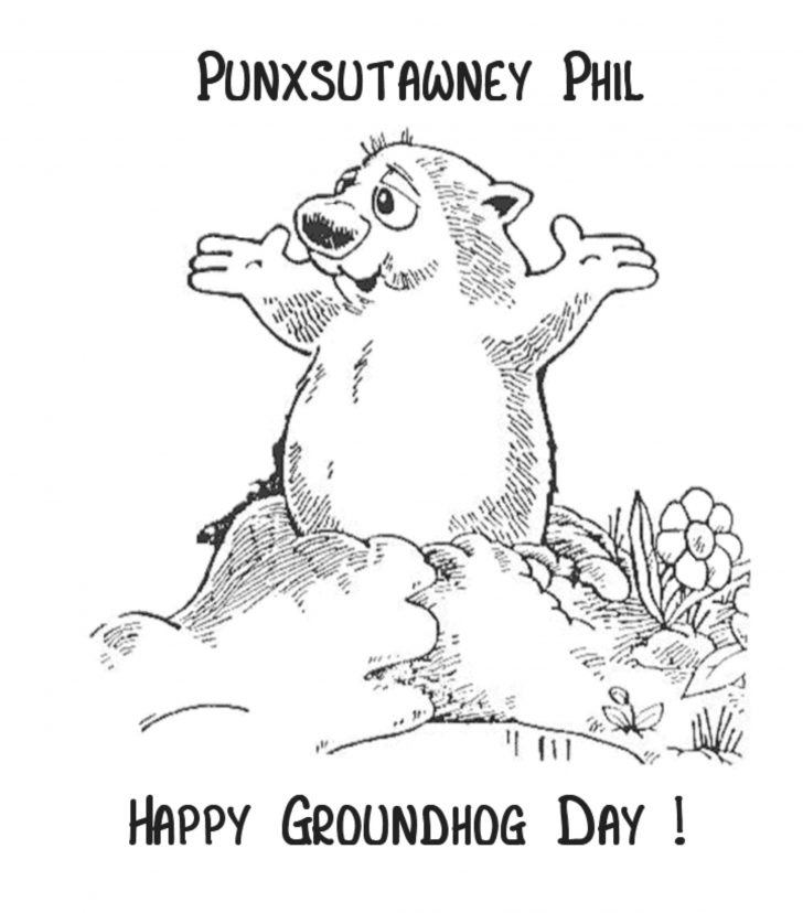 Free Printable Groundhog Day Booklet