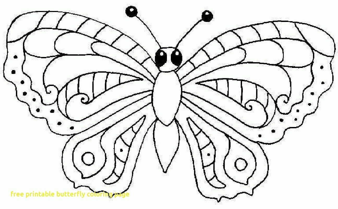 Coloring Ideas : Butterfly Coloring Pages For Kids Printable Free - Free Printable Butterfly Pictures