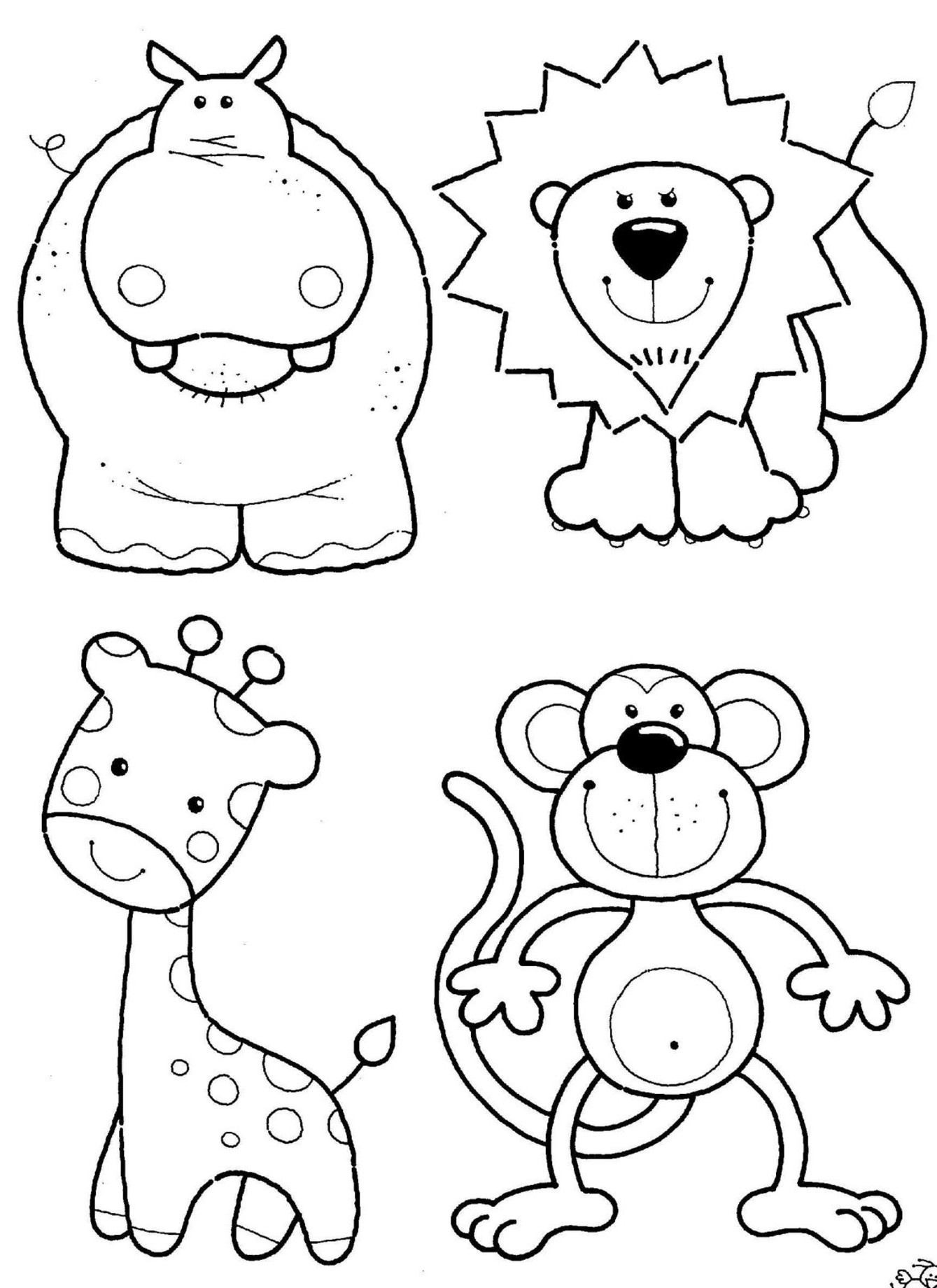 Coloring Ideas : Dt9Rgaagc Free Coloring Pictures Of Animals Ideas - Free Coloring Pages Animals Printable
