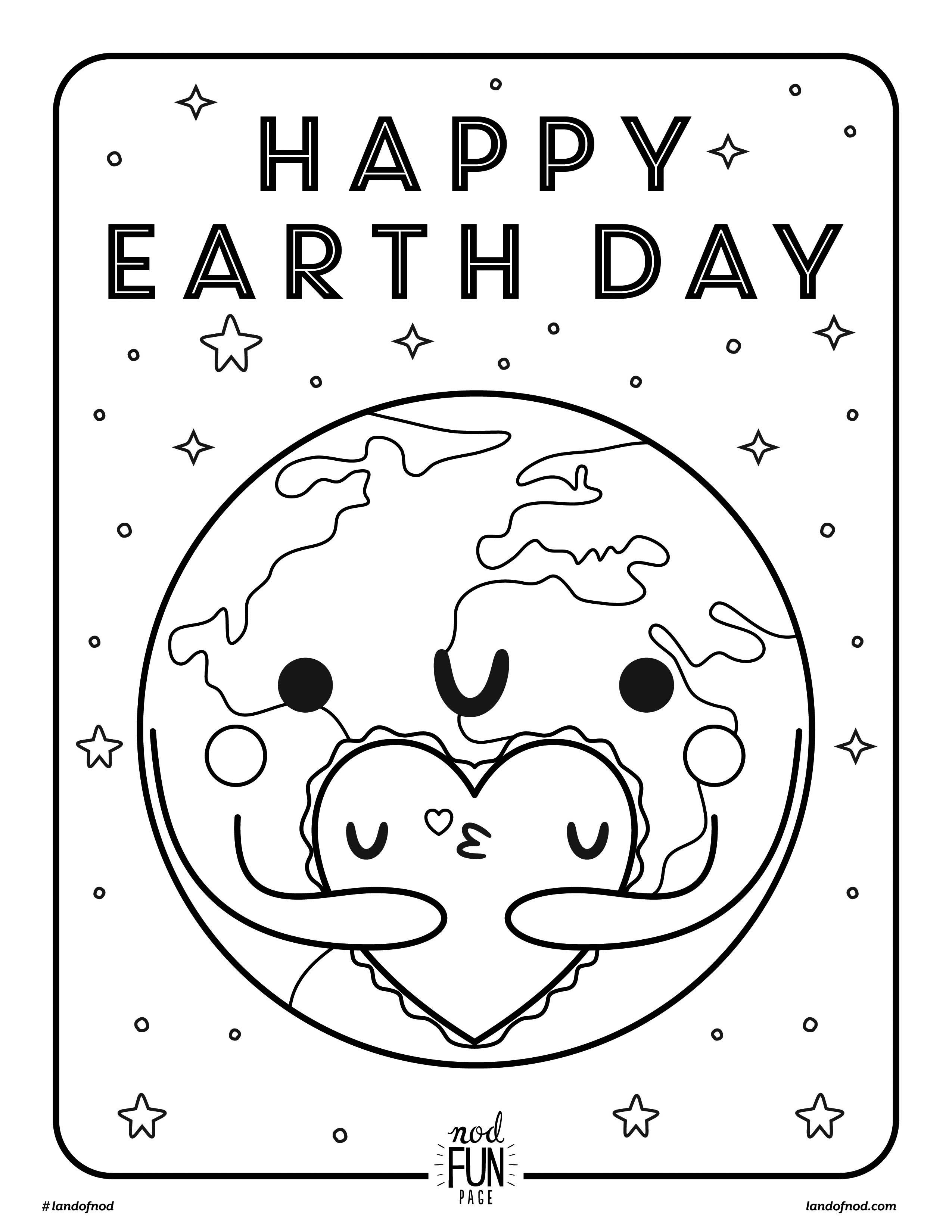 Coloring Ideas : Earth Day Printable Coloring Pages Amazing Free - Free Printable Earth Pictures