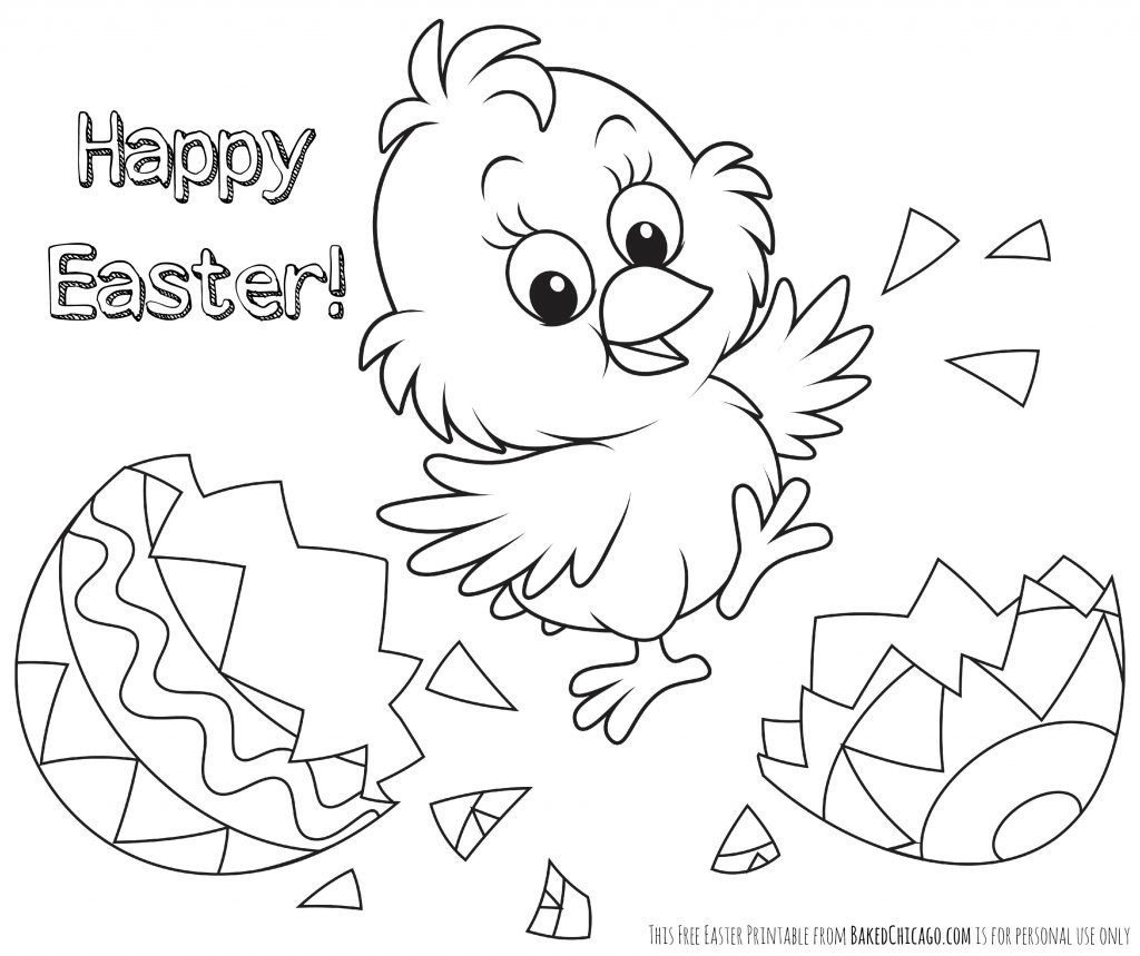 Coloring Ideas : Easter Coloring Pages For Kids Crazy Little - Easter Color Pages Free Printable